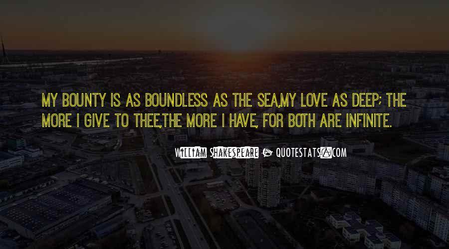 Infinite Sea Quotes #1608418