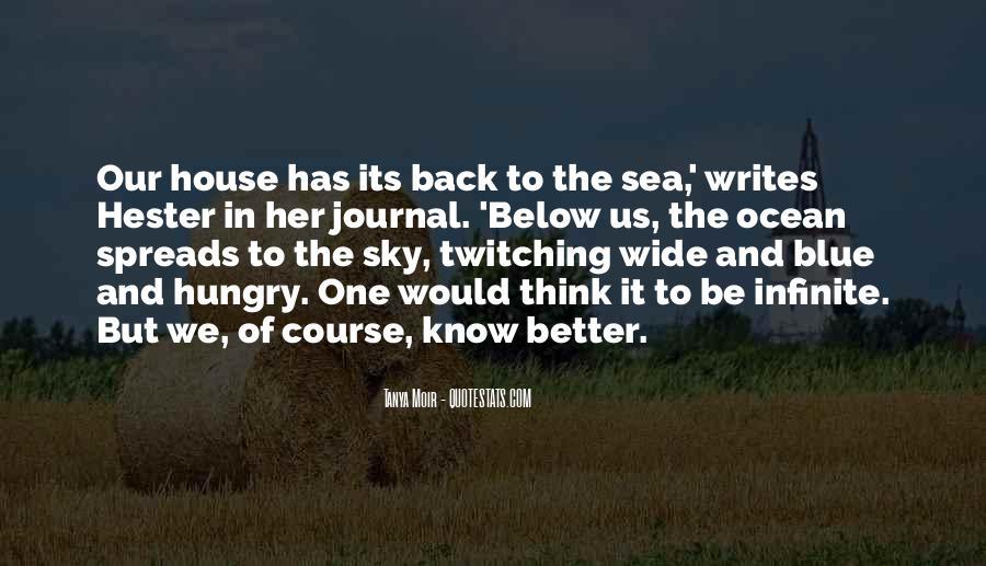 Infinite Sea Quotes #33295