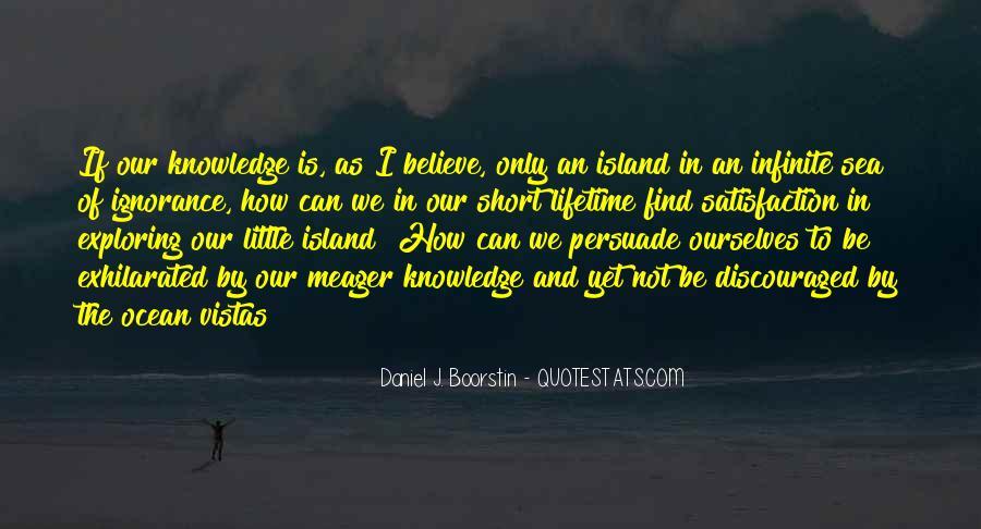 Infinite Sea Quotes #930376