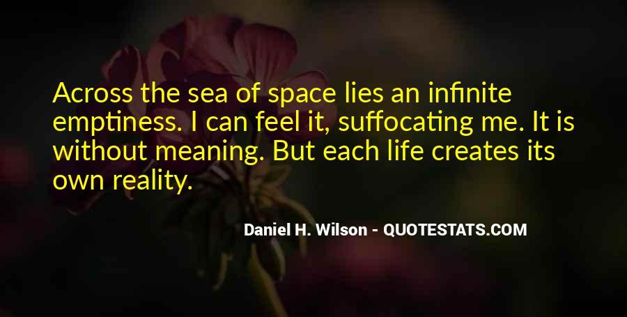 Infinite Sea Quotes #99552