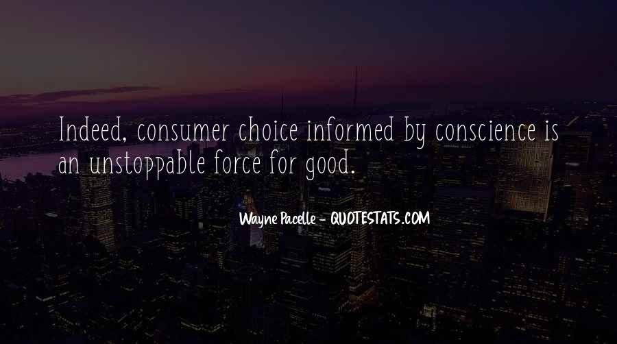 Informed Choice Quotes #1243325