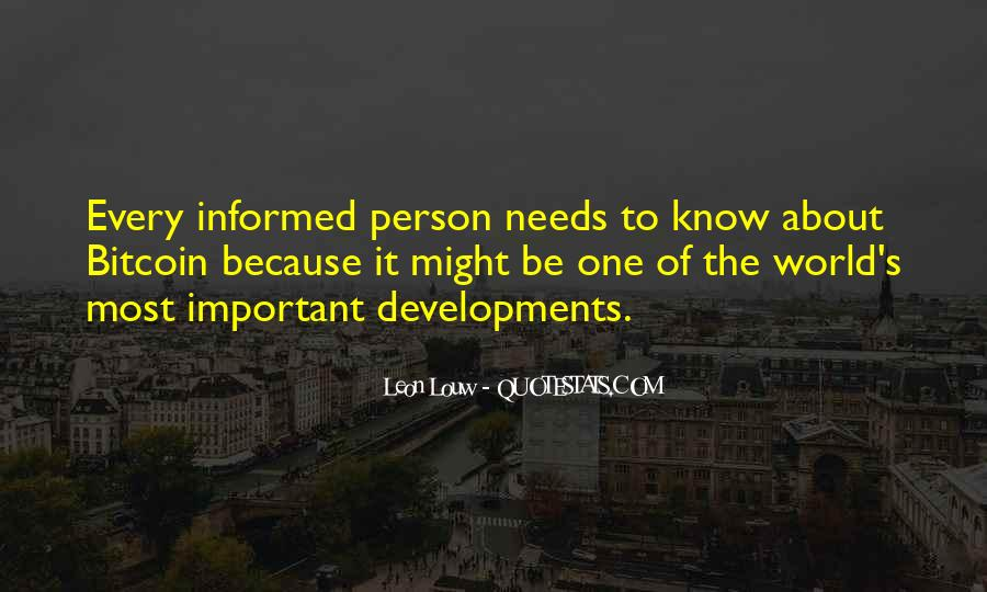 Informed Person Quotes #1481017