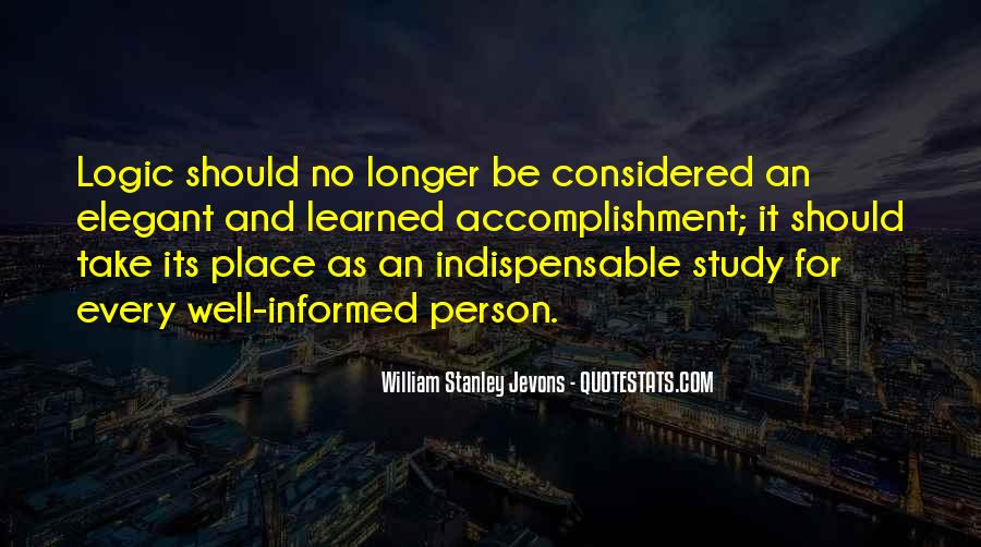 Informed Person Quotes #1869223