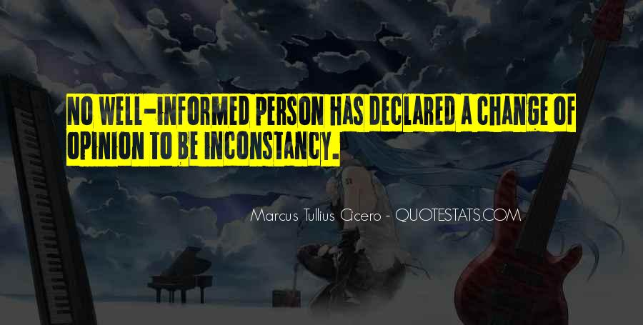 Informed Person Quotes #385067