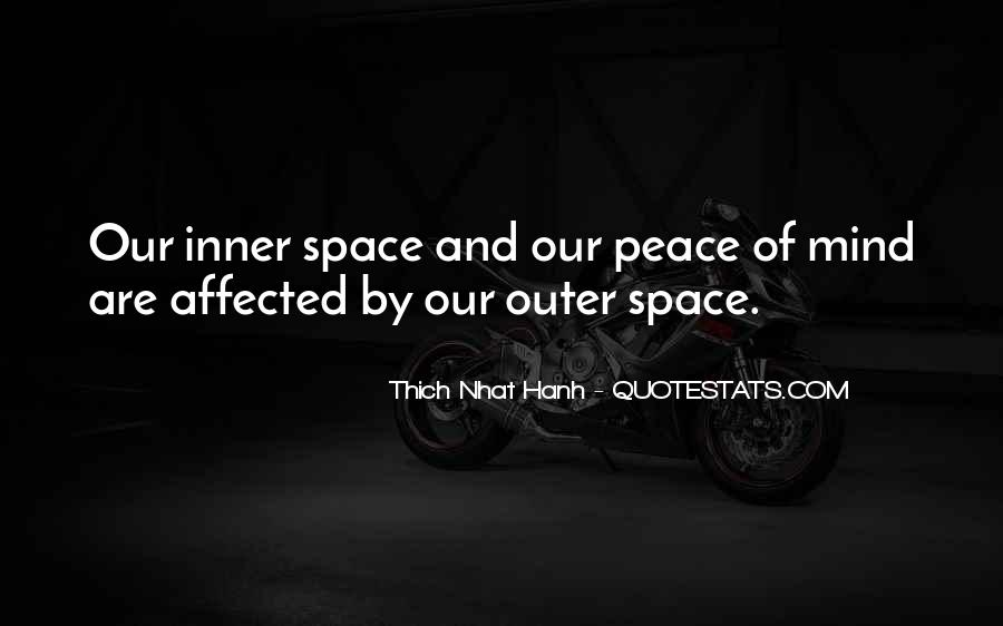 Inner Peace Of Mind Quotes #1068600