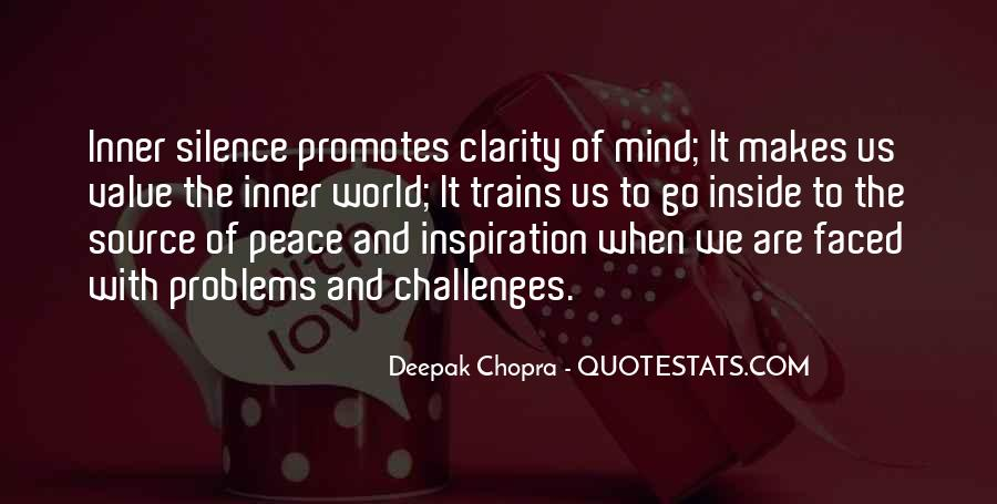 Inner Peace Of Mind Quotes #1225804