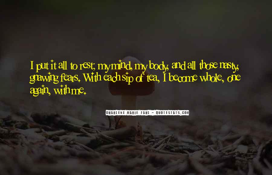 Inner Peace Of Mind Quotes #201269