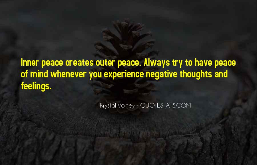 Inner Peace Of Mind Quotes #241929