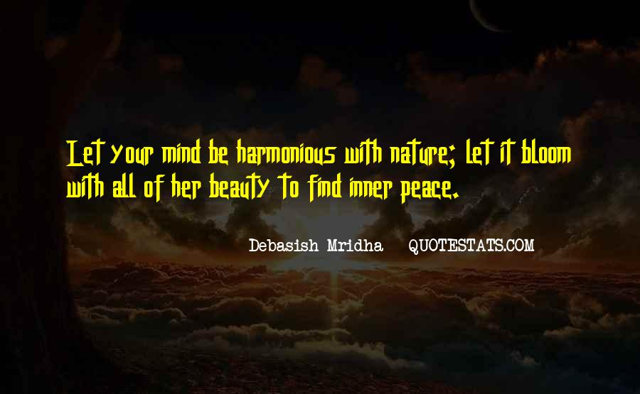 Inner Peace Of Mind Quotes #334671