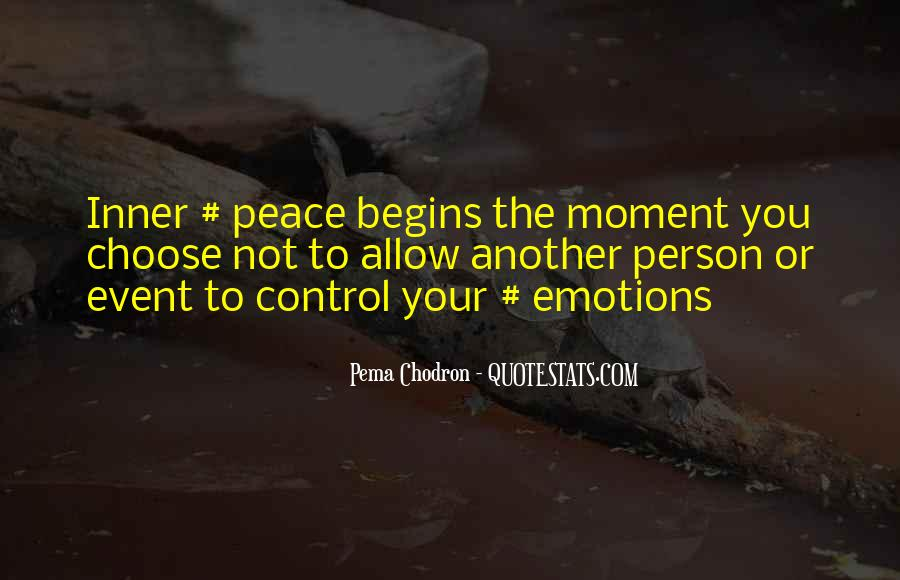 Inner Peace Of Mind Quotes #349525