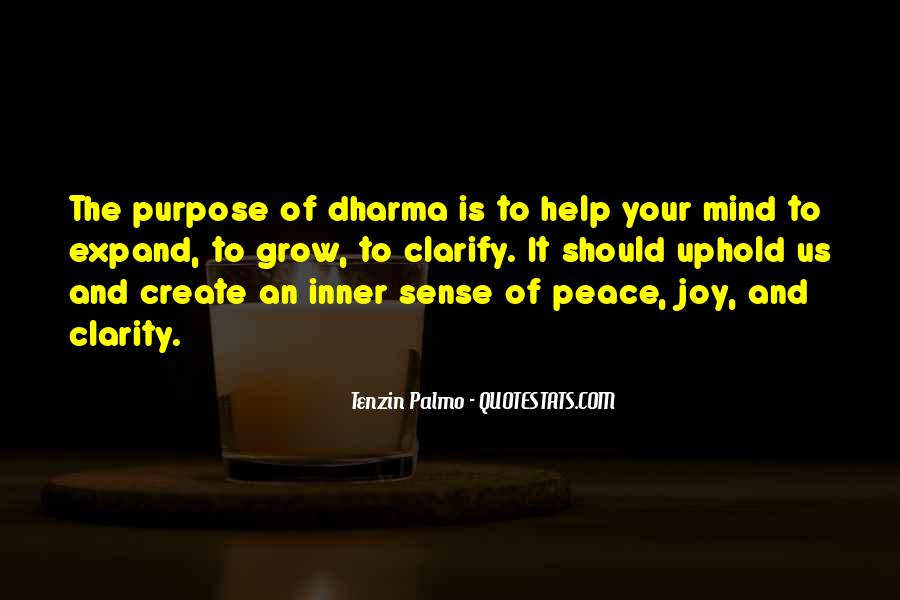 Inner Peace Of Mind Quotes #59021