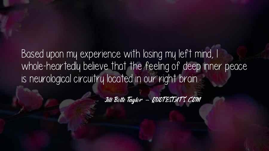 Inner Peace Of Mind Quotes #599168