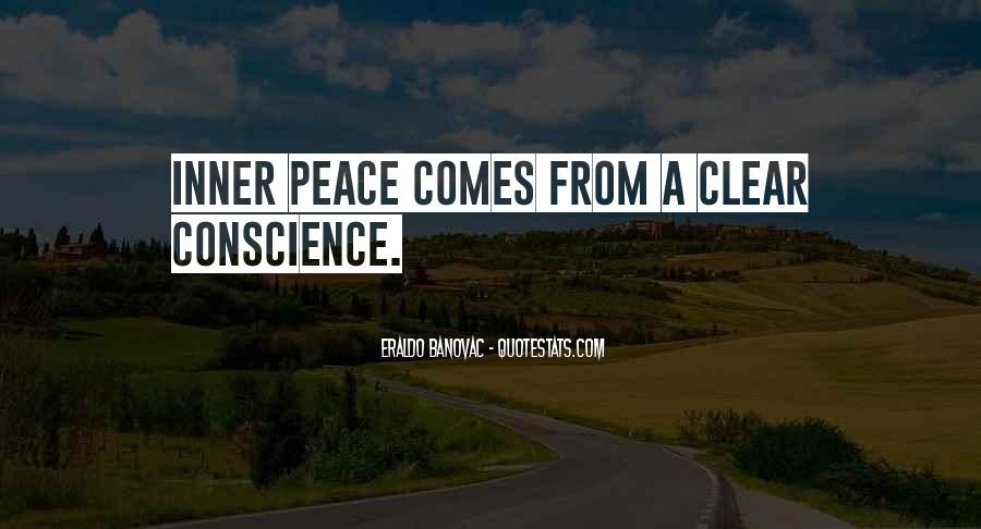 Inner Peace Of Mind Quotes #61812