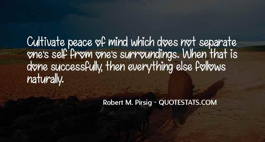 Inner Peace Of Mind Quotes #769996