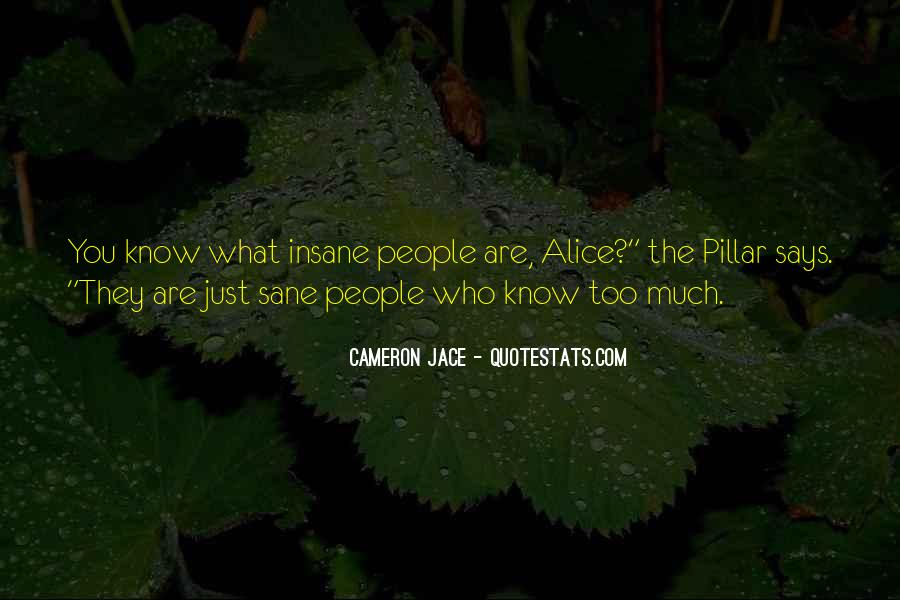 Insanity Cameron Jace Quotes #161550