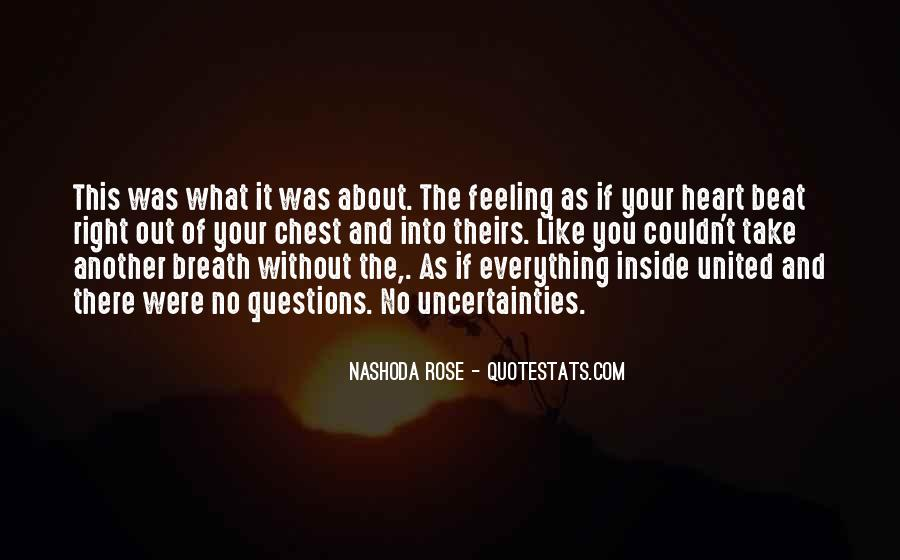 Inside Your Heart Quotes #109547