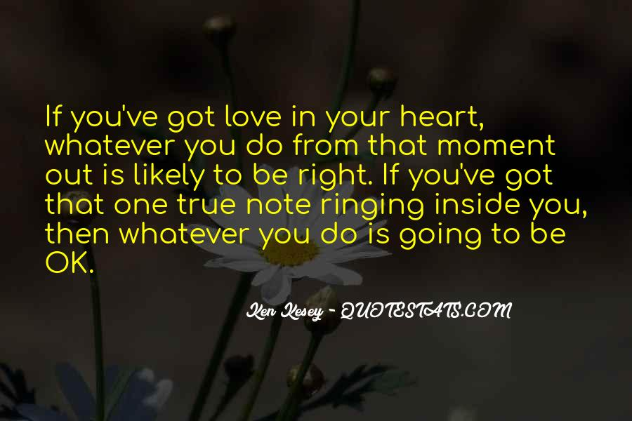 Inside Your Heart Quotes #714534