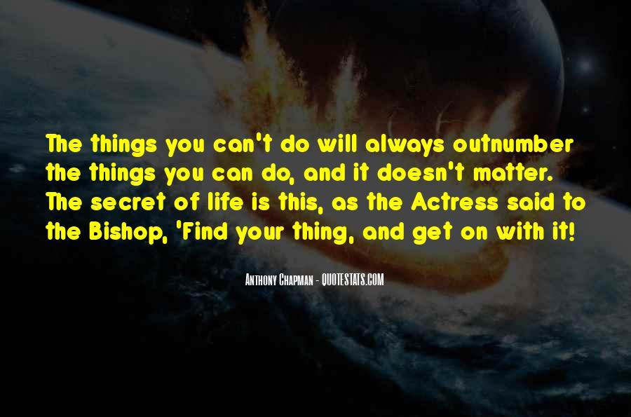 Inspirational Actress Quotes #1083490