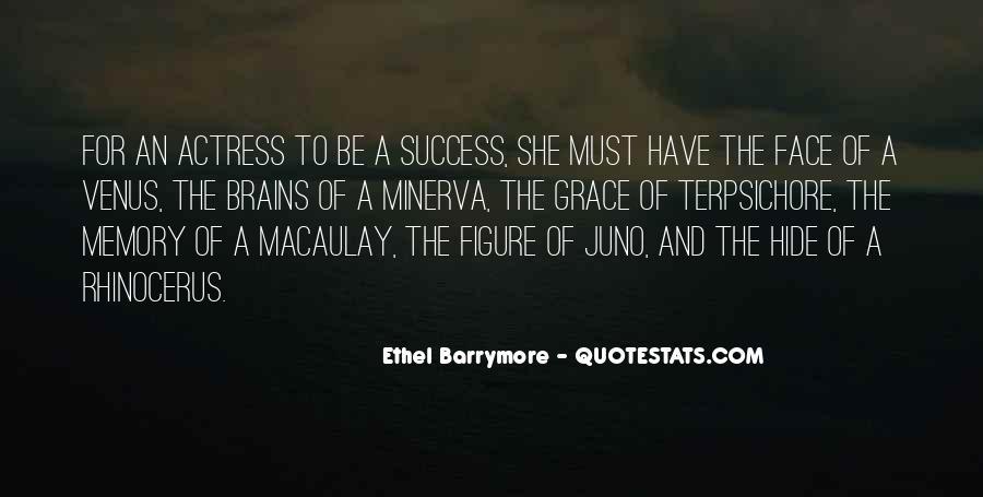 Inspirational Actress Quotes #14971