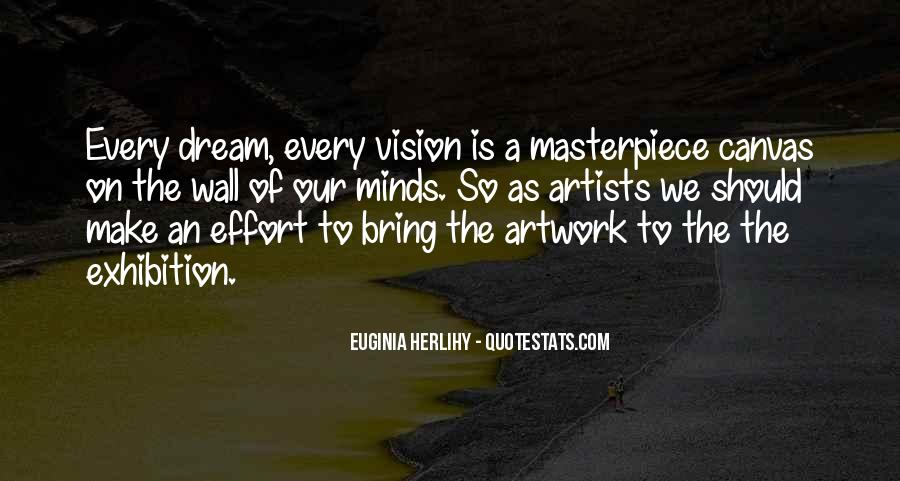 Inspirational Artwork Quotes #208850