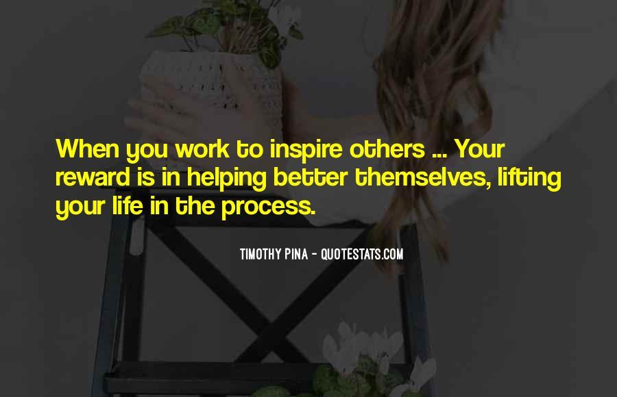 Inspirational Life Work Quotes #130470