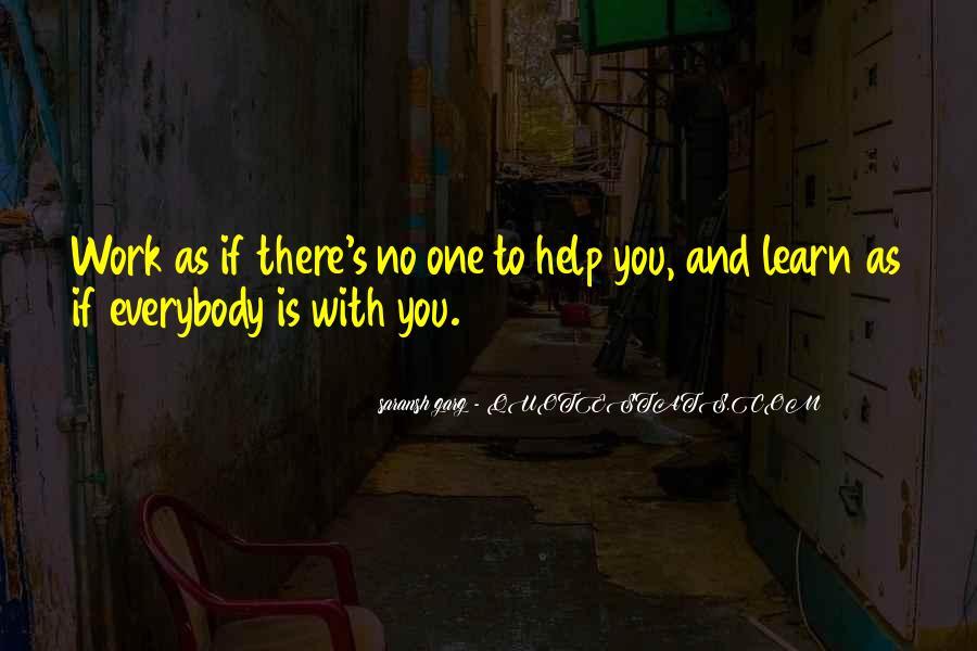 Inspirational Life Work Quotes #150388