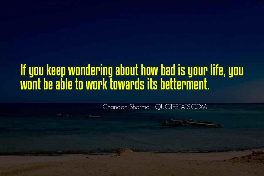 Inspirational Life Work Quotes #162128