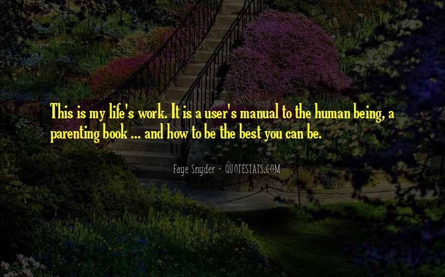 Inspirational Life Work Quotes #232576