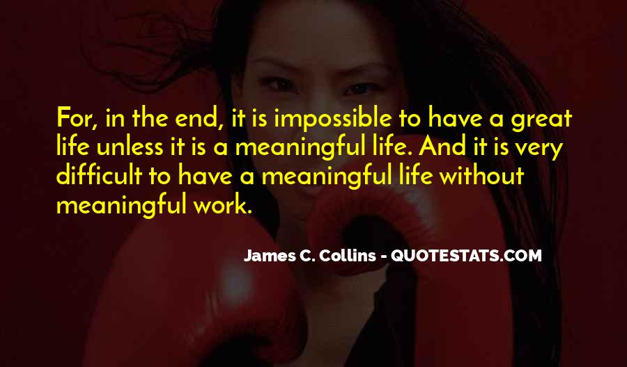 Inspirational Life Work Quotes #513508
