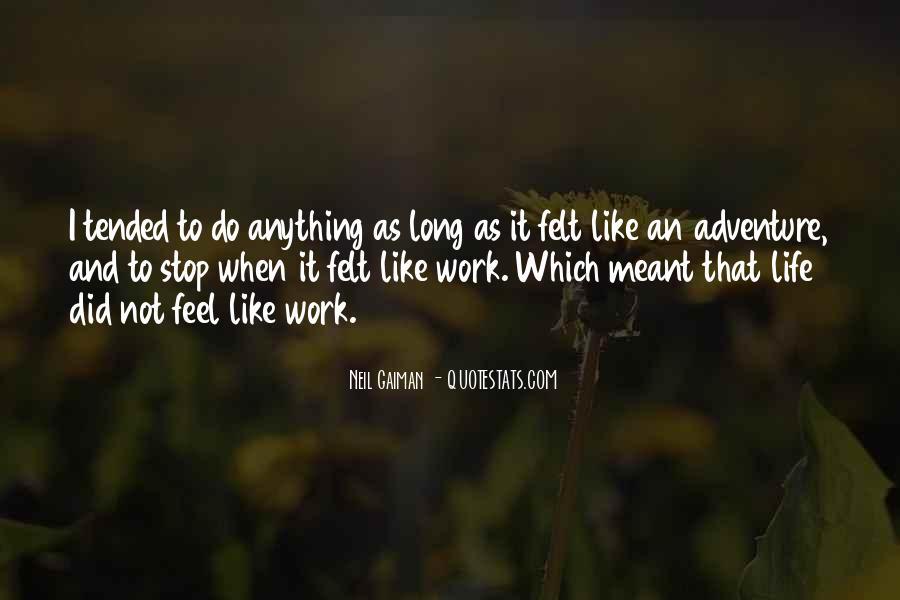 Inspirational Life Work Quotes #85113
