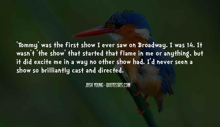 Inspirational Musical Theater Quotes #507083