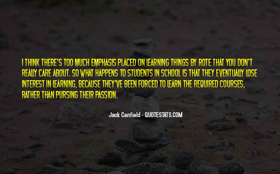 Inspirational School Quotes #1265822