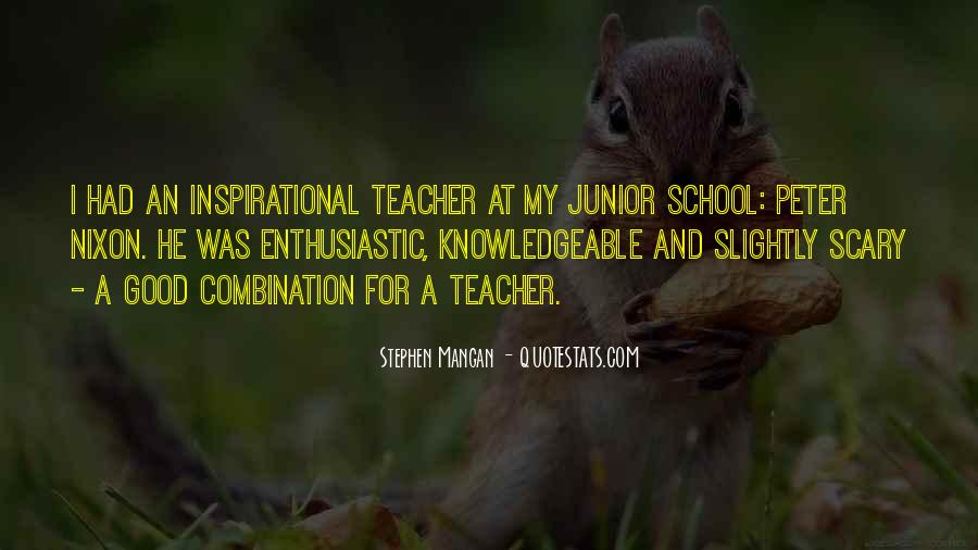 Inspirational School Quotes #353270
