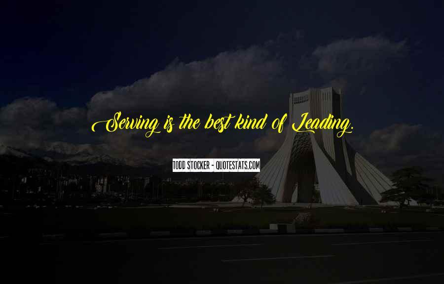 Inspirational Servant Leadership Quotes #881383