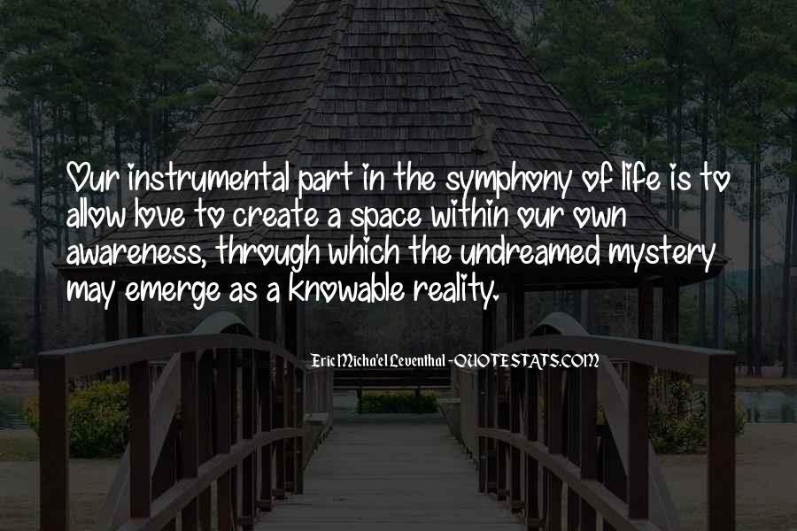 Instrumental Love Quotes #1144406