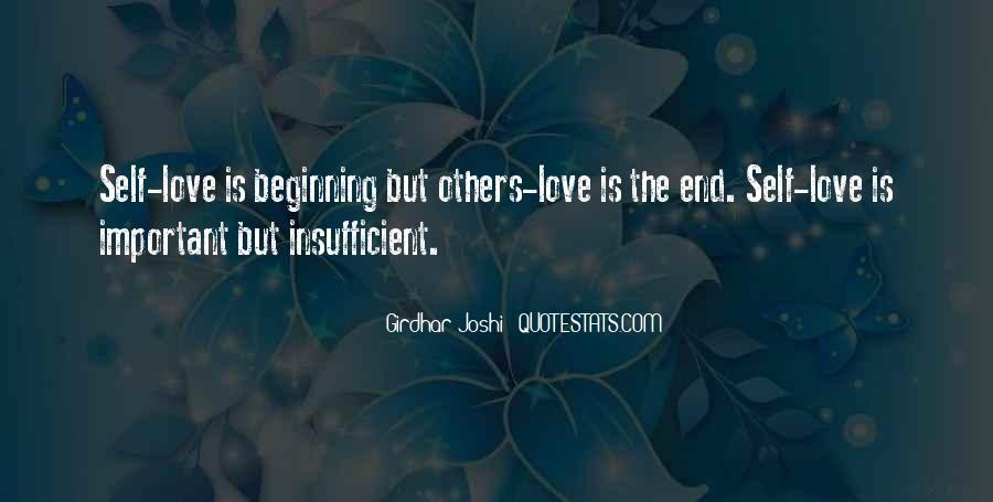 Insufficient Love Quotes #1653176