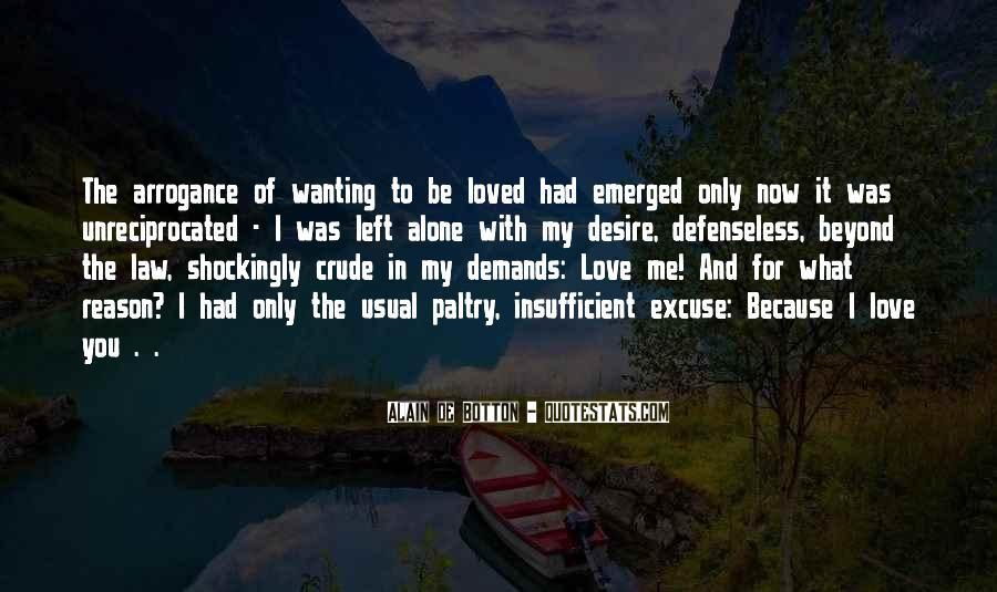 Insufficient Love Quotes #1722108