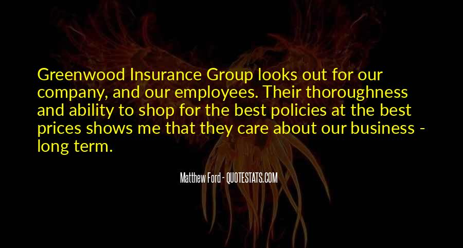 Insurance For Business Quotes #1044374