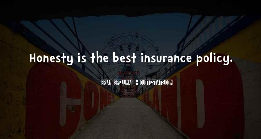 Insurance Policy Quotes #1103191