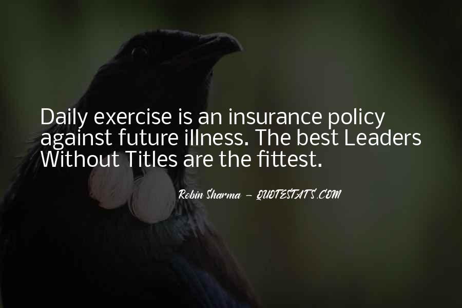 Insurance Policy Quotes #1273521