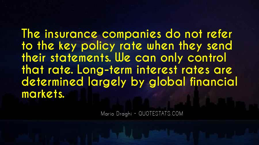 Insurance Policy Quotes #1468736
