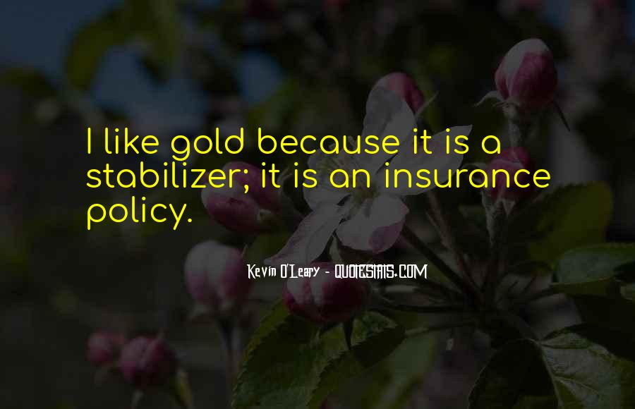 Insurance Policy Quotes #1686904