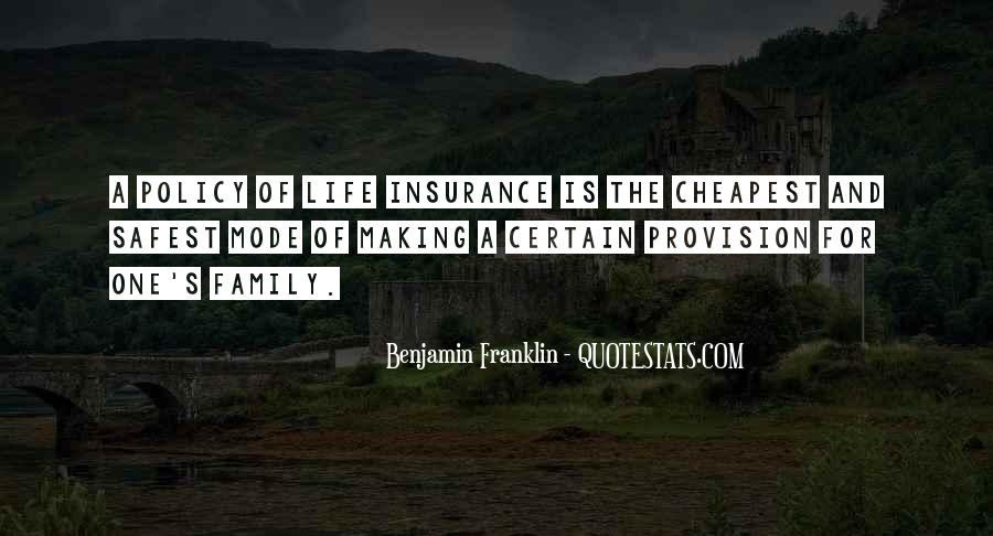 Insurance Policy Quotes #1783407