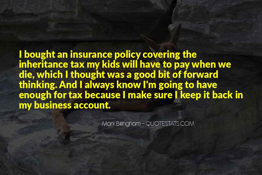 Insurance Policy Quotes #73518