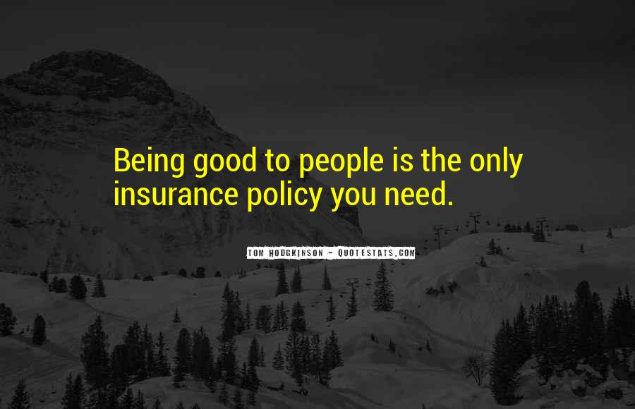 Insurance Policy Quotes #875496