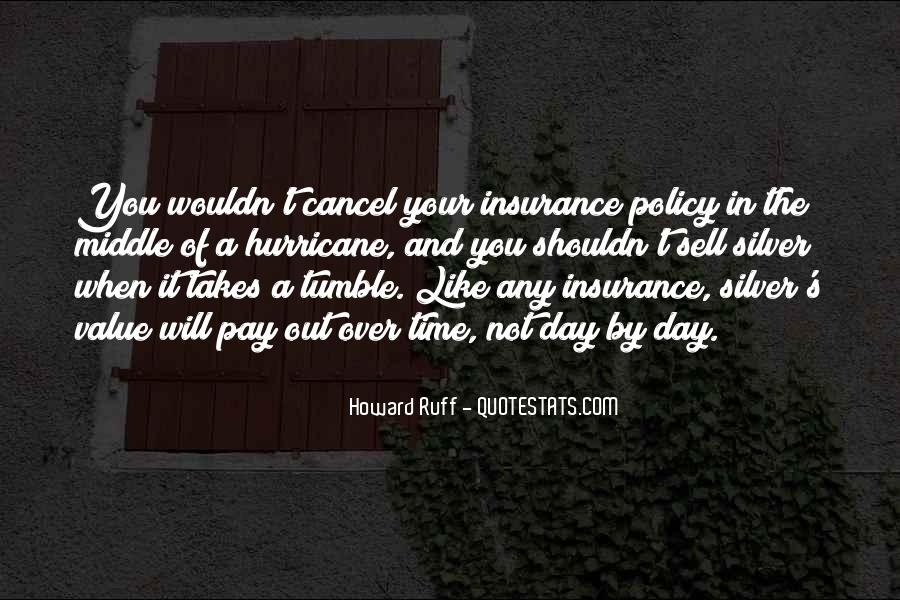 Insurance Policy Quotes #956431