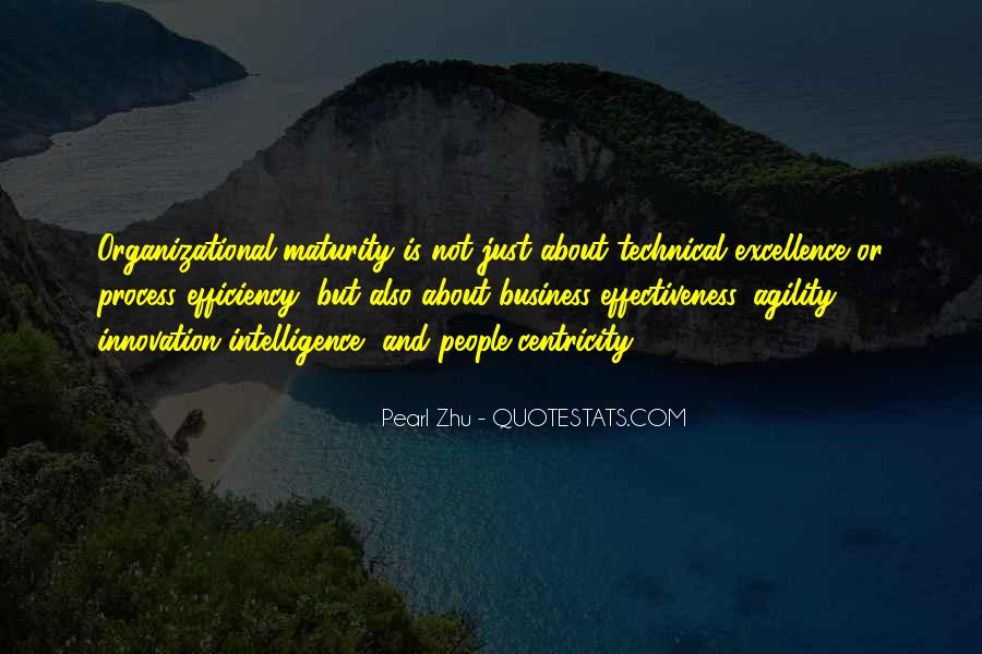 Top 14 Intelligence And Maturity Quotes: Famous Quotes