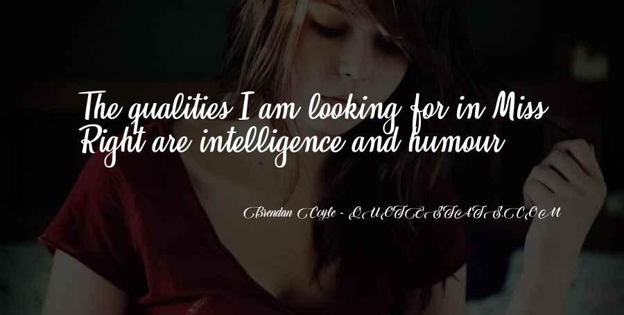 Intelligence Humour Quotes #1789341
