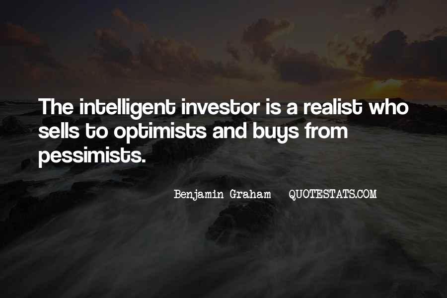 Intelligent Investor Quotes #1122594