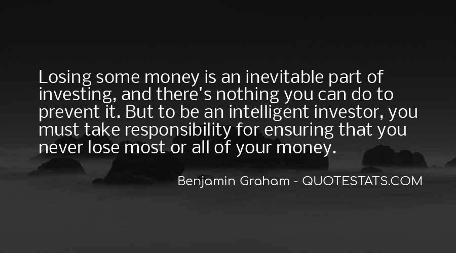 Intelligent Investor Quotes #1300314
